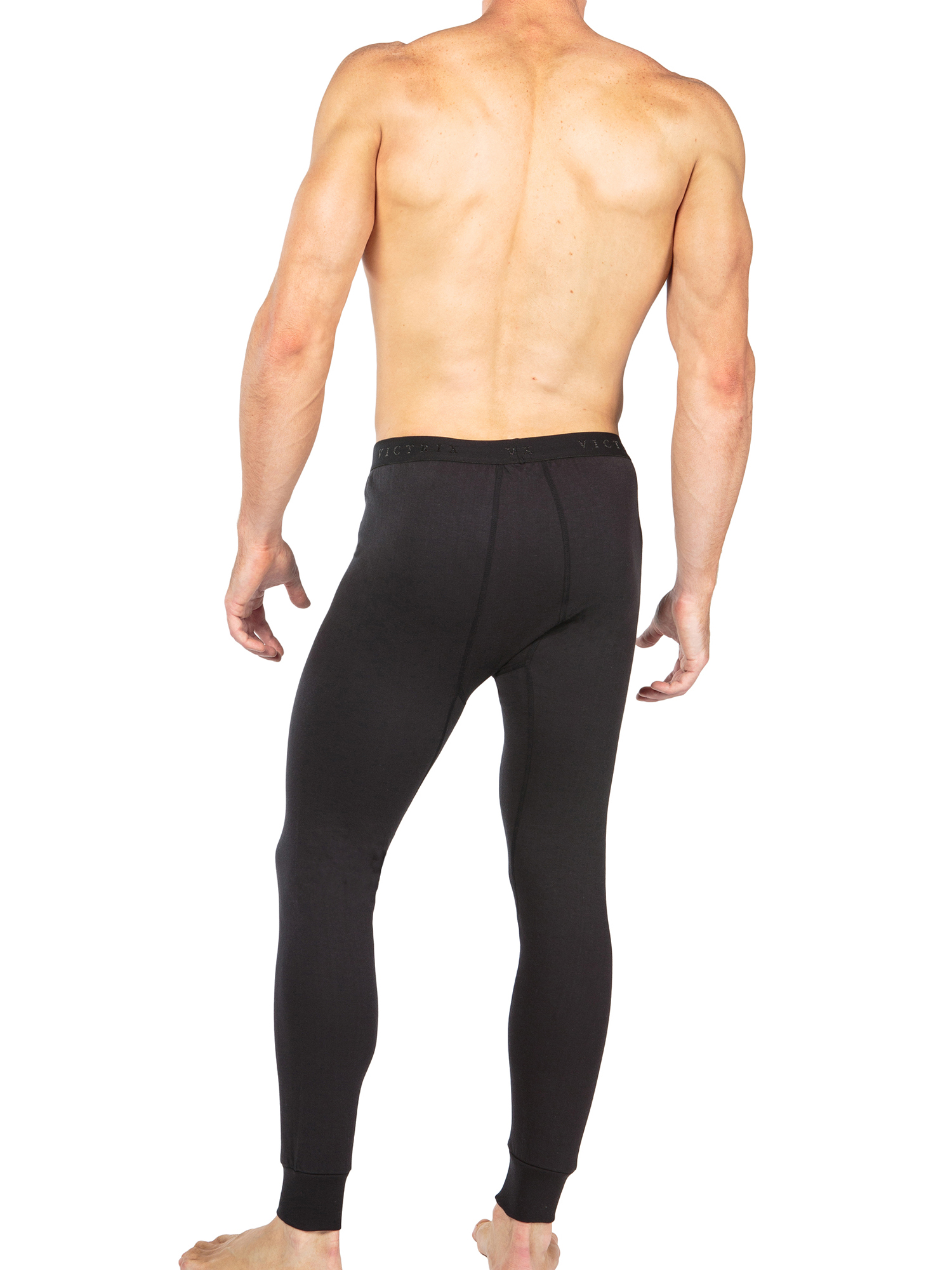 Men-039-s-Thermal-Underwear-Long-John-Pants-Luxury-Base-Layer-Thermals-for-Men miniatuur 4