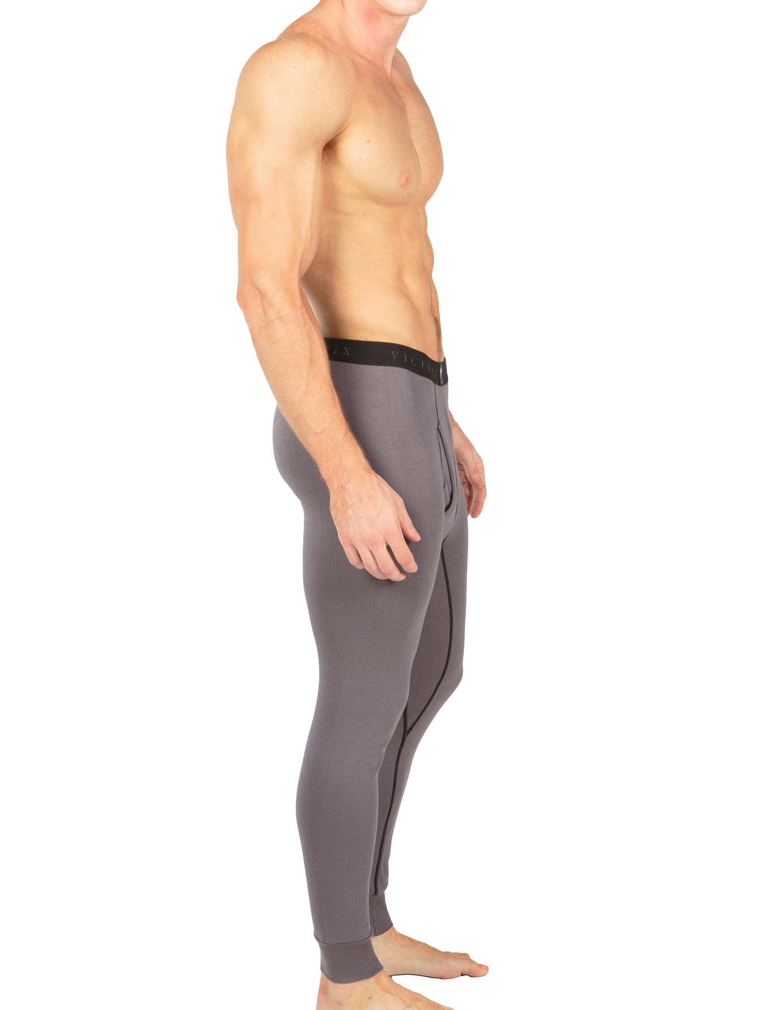 Men-039-s-Thermal-Underwear-Long-John-Pants-Luxury-Base-Layer-Thermals-for-Men miniatuur 10